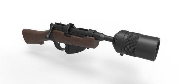 3D jawa ion blaster model