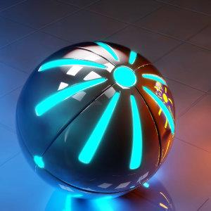 3D concepts tech sphere