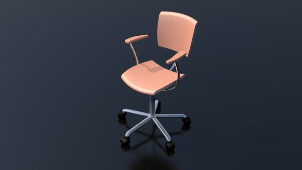 office work chair furniture 3D model