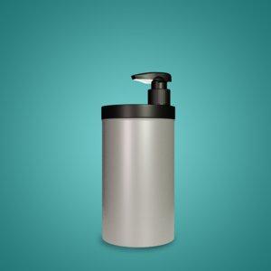 3D cream jar dispenser model