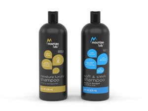 mountain falls shampoo 3D