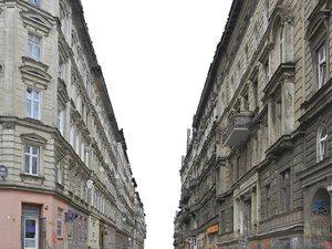 facade street 3D model