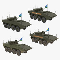 vpk-7829 bumerang green - 3D model