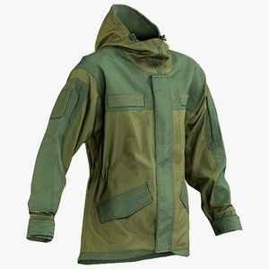 3D realistic hunting jacket