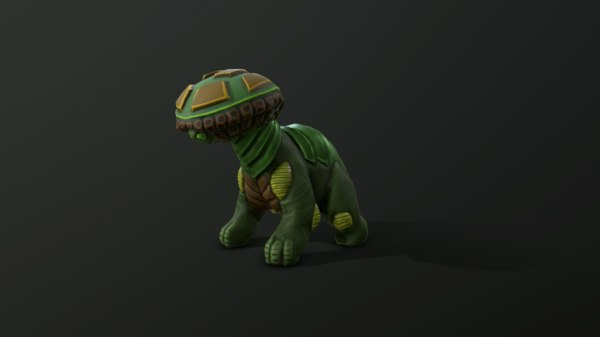 3D forest creature