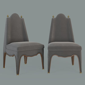 3D furniture seat chair