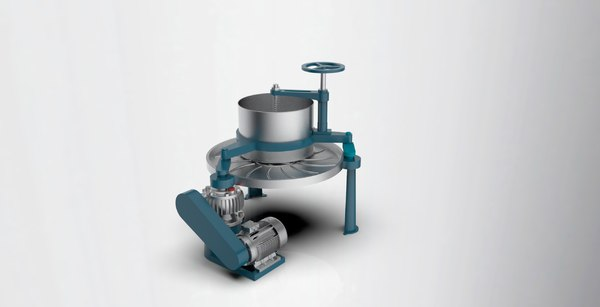 tea rubbing machine 3D model