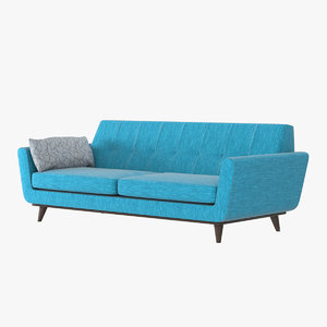 realistic joybird seat sofa model