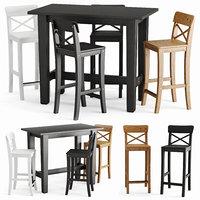 Stornas Ingolf bar table and chair