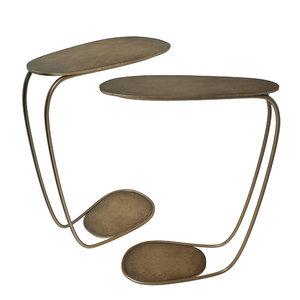 cattelan table bronze 3D model