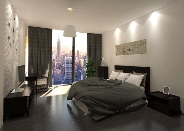 bedroom 3D model
