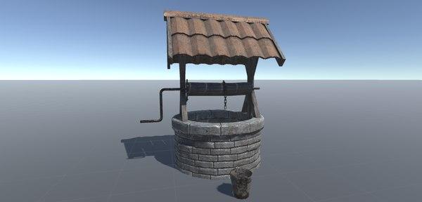 medieval locations 3D model