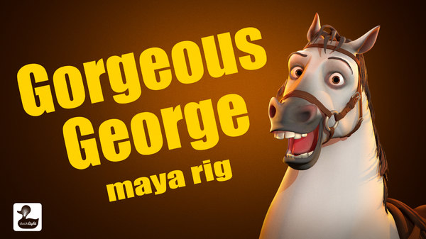 3D horse rig george gorgeous