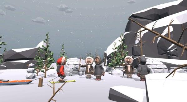 3D north -