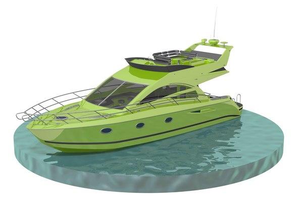 boat yacht model