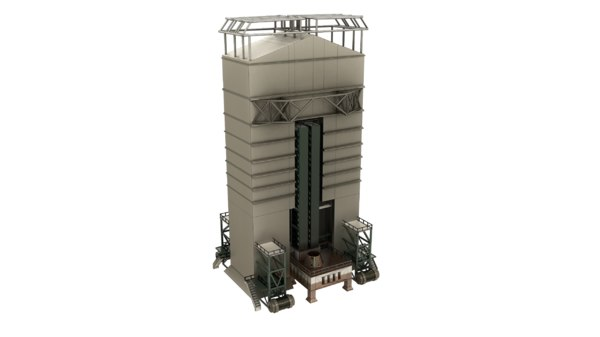 3D launchpad model