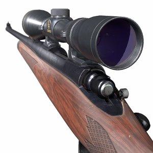 3D remington 700