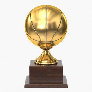 3D model realistic trophy cup 9