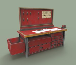 workbench bench 3D