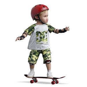 skate board 3D