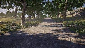 3D rough path ue4