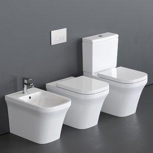 toilet p3 comforts bidet 3D