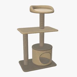 3D pet playhouse model