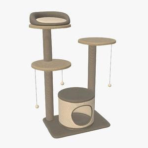 3D pet playhouse