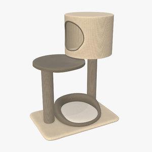3D model pet playhouse