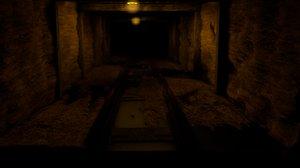coal tunnel 3D model