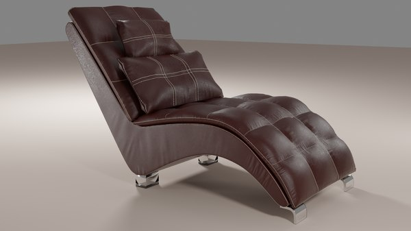 comfortable leather chair model