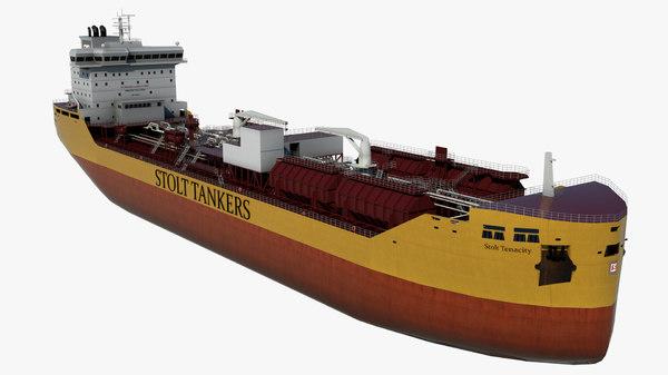 3D oil tanker stolt tenacity