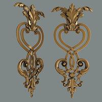 3D moulding decoration