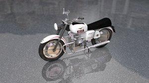 guzzi standard motorcycle 3D