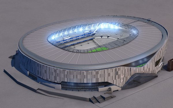 tottenham football stadium 3D model