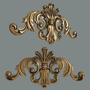 moulding decoration 3D
