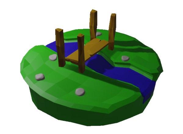 scene stream 3D model
