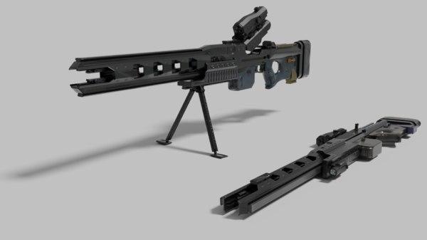 rorsch mk-1 gun 3D model