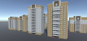 3D house building constructor