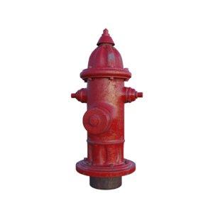 hydrant pbr arnold model