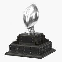 realistic trophy cup 15 3D model