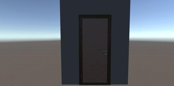 door room props 3D model