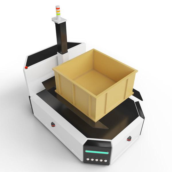 autonomous forklift industry 3D model
