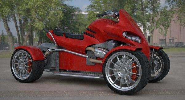 atv motorcycle 3D