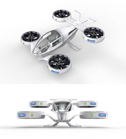 drone - taxi 3D model