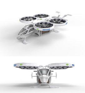 3D drone - transport model