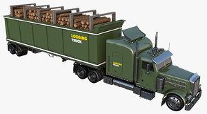 3D truck logging