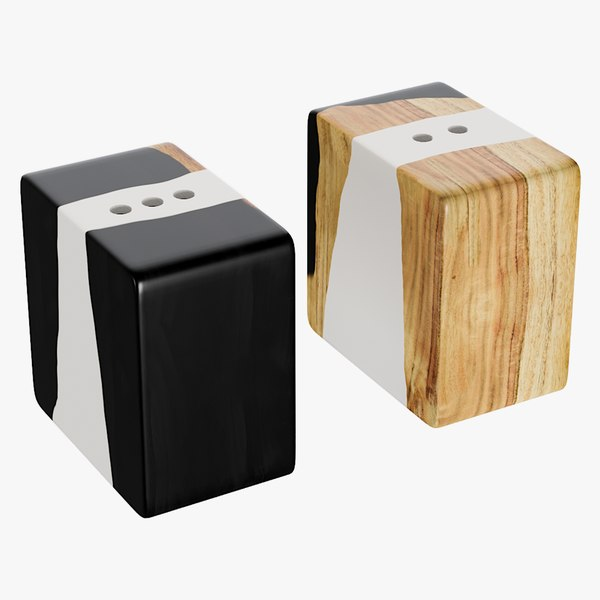 3D realistic malcolm petrified wood