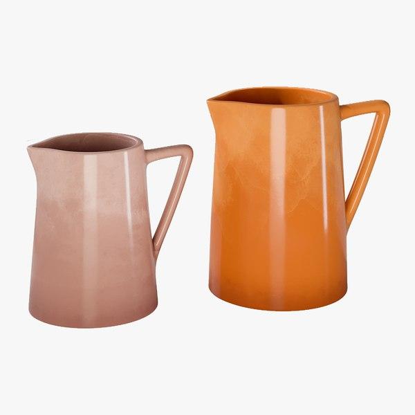 realistic dune camel pitcher 3D