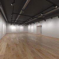 Art Gallery 001 3D model